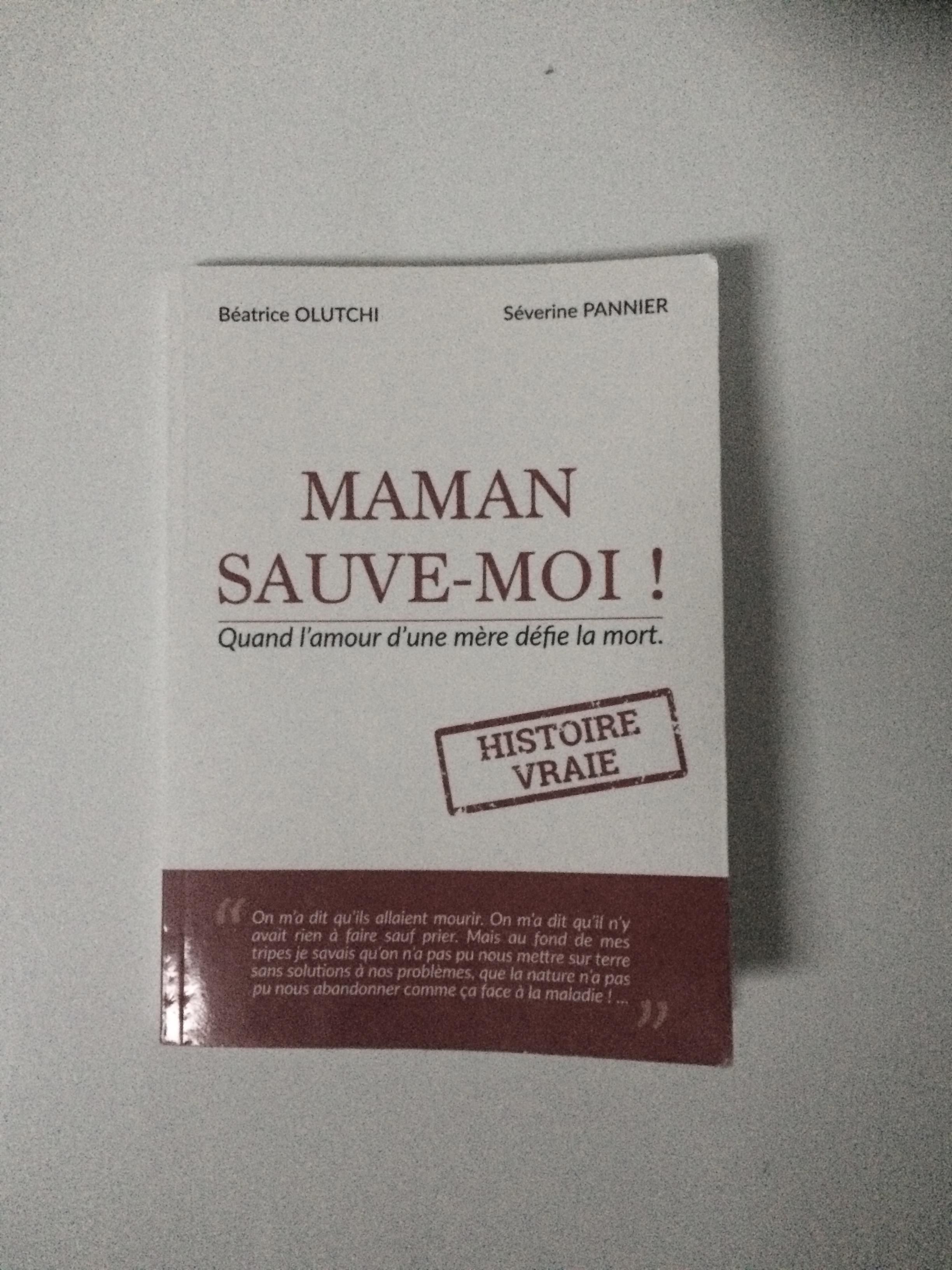 MAMAN SAUVE-MOI !